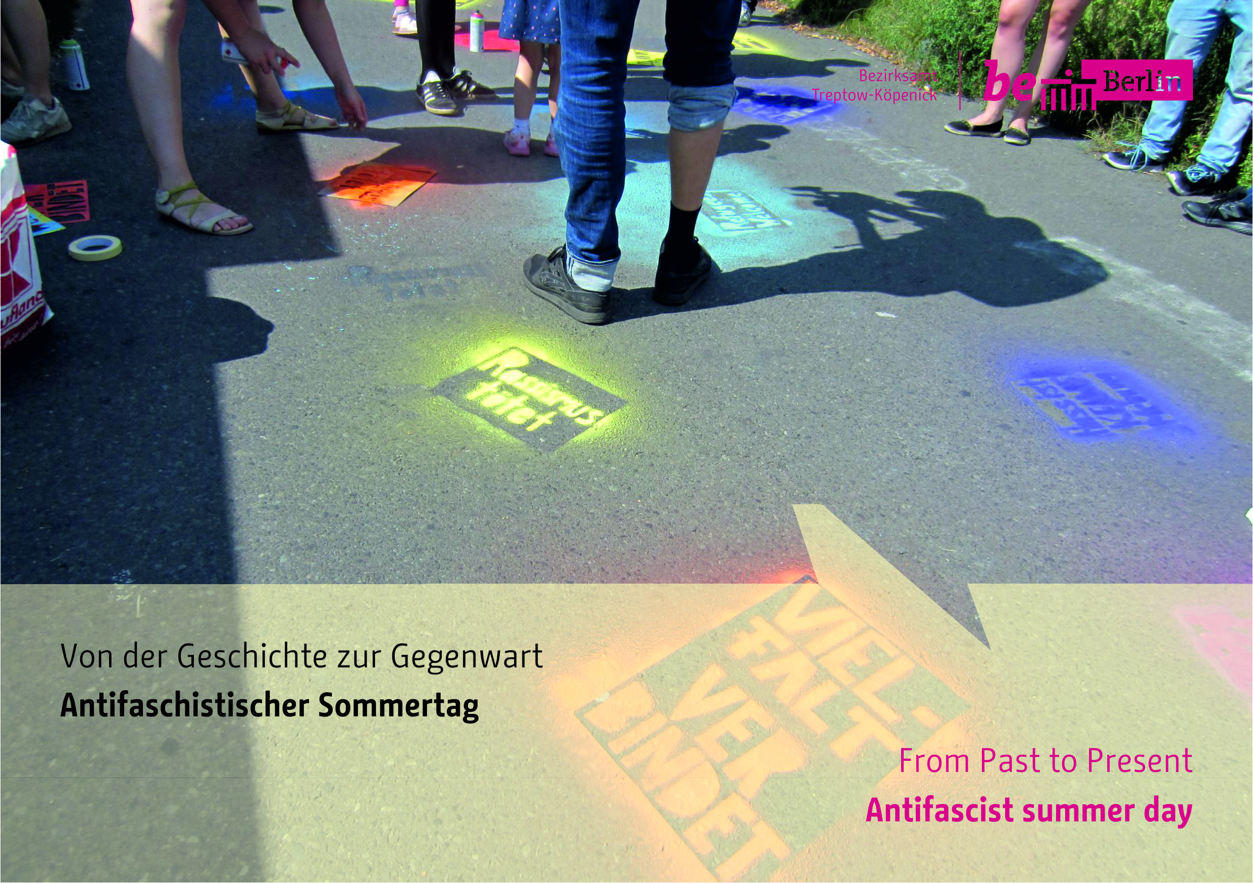 Antifaschistischer Sommertag am 8. August